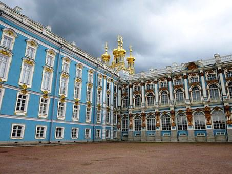 Catherine's Palace, St Petersburg, Russia, Historically