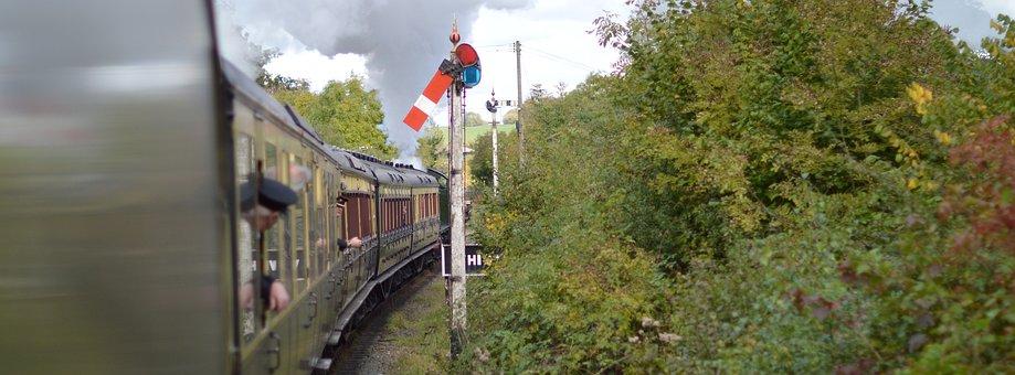 Train, Steam, Railway, Severn Valley Railway