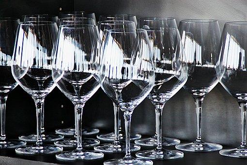 Glass, Wine, Stemware, Drink, Tasting, Wine Glasses