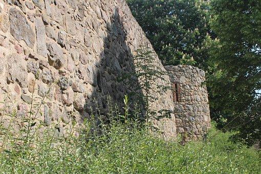 Templin, City Wall, Masonry, History, Stone, City