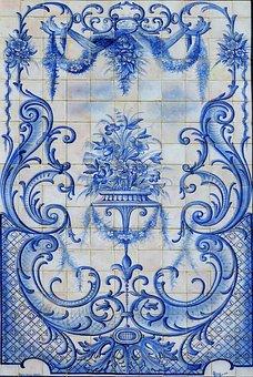 Portugal, Aveiro, Tile, Crafts, Tiles