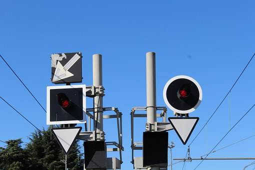 Traffic Lights For Trains, Railway Station, Report