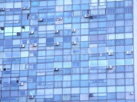 Blue, Arquitecture, Windows