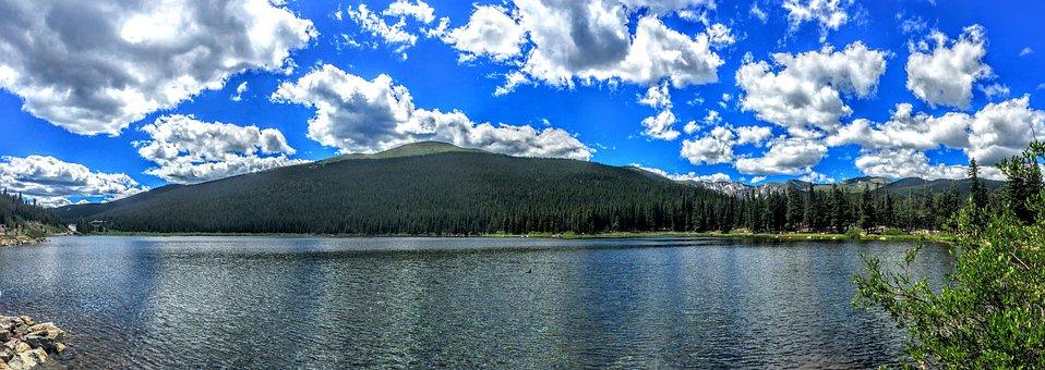 Colorado, Echo Lake, Mountain, Altitude, Usa, Travel