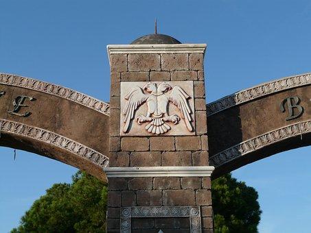 Archway, Adler, Oriental, Arabic, Building