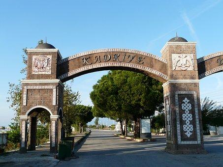 Archway, Oriental, Arabic, Building, Architecture