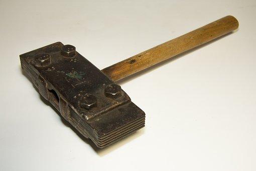 Stone Processing, Basalt, Hammer, Dötzer, Old Tool