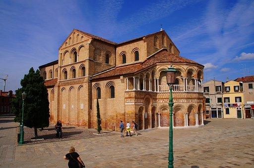 Italy, Venice, Murano, Church