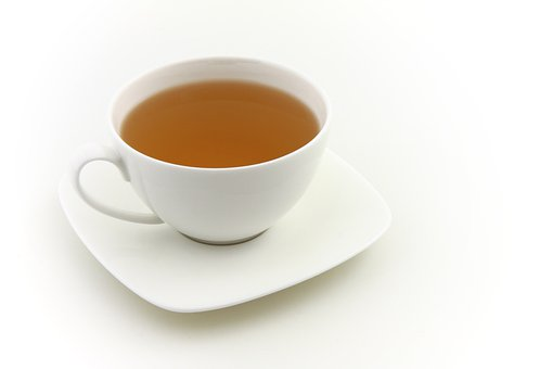 Cup, Drink, Fresh, Green, Black, Hot, Isolated, Liquid