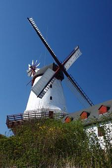 Denmark, Dybbøl, Mill, Spring
