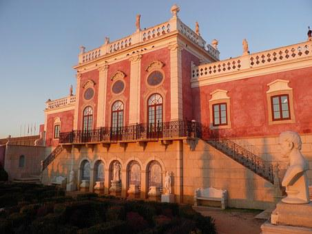 Palace, Palacio, Estoi, Portugal, Algarve, Tourism