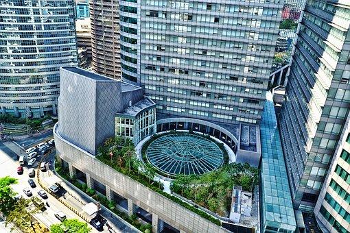 Makati City, Building, Urban Scene, Philippines