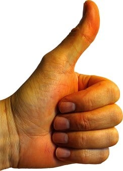 Thumb, Thumbs Up, Finger, Sign Language, Motivation