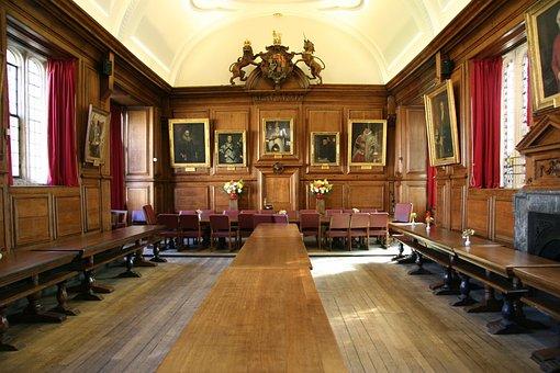 Oxford, England, Hall, Uk, Architecture, Oxfordshire