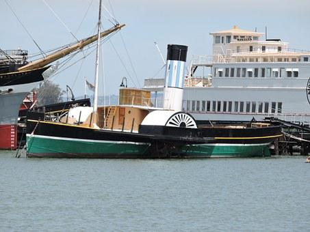 Paddle Steamer, Mississippi, Boat, Ship, Nautical