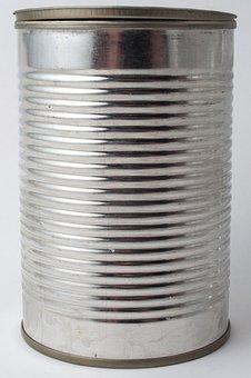 Box, Tin Can, Tinplate, Metal