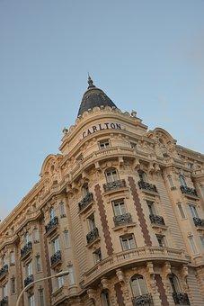 Carlton, Hotel, Cannes, Nobel, Building, Architecture