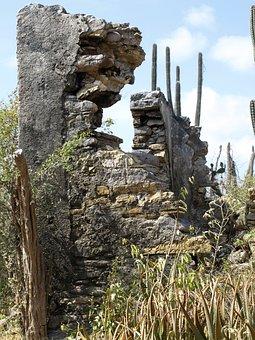 Christoffel Park, Ruins, Antilles, Curacao, Caribbean