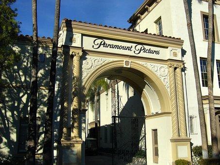 Paramount, Studio, Gate, Entrance, Hollywood, Gateway