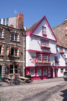 Bristol, Royal Road, England, Houses, Stone House