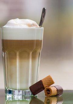 Latte Macchiato, Drink, Coffee