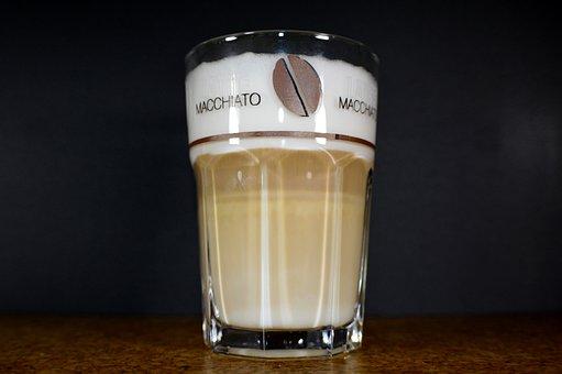 Coffee, Glass, Benefit From, Drink, Latte Macchiato