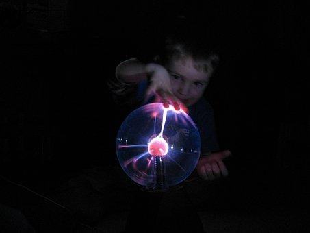 Child, Curious, Plasma Ball, Little Explorers, Learn