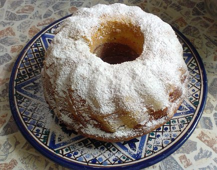 Austrian Gugelhupf, Marble Gugelhupf, Bowl Cake