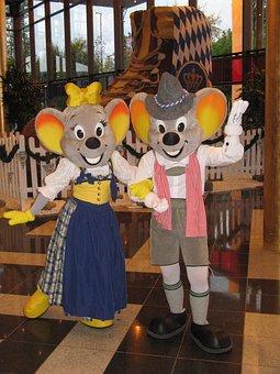 Oktoberfest, Europe-park, Mascot, Euro-maus