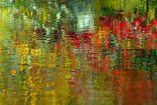 Abstract, Water, Background, Colorful, Blurry, Motion