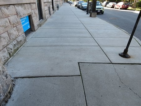 Sidewalks, Outside, Public, City, Exterior, Outdoor