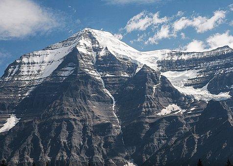 Mountain, Sky, Landscape, Blue, Outdoors, Rock, Peak