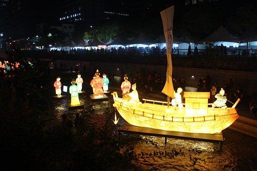 Lantern Festival, Republic Of Korea, Seoul