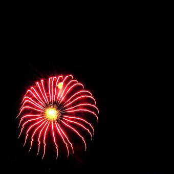 Fireworks, Sky, Night, Sylvester, New Year's Eve