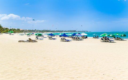 Beach, Cabarete, Sosua, Costa, Sun, Sand, Ocean, Blue