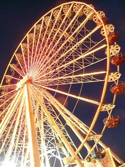 Ferris Wheel, Year Market, Fair, Theme Park, Ride