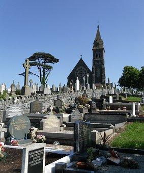 Church, Graveyard, Cemetery, Ballycran