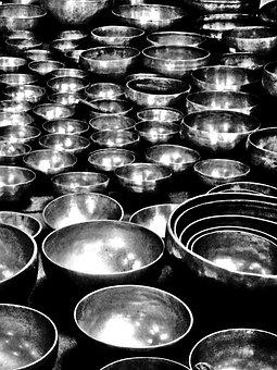 Bells, Bronze, Tibetan