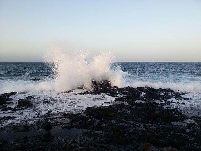 Lanzarote, Blue Hour, Costa Tequise