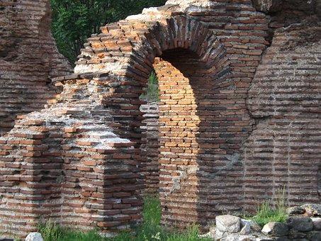 Elenska Bazilika, Basilica, Fortress, Bulgaria, Bricks
