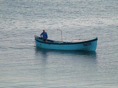Pomorie, Fisherman, Bulgaria, Boat, Ship, Tradition