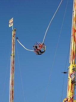 Bungee System, Spin, Bungee, Fairground, Oktoberfest