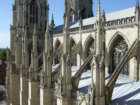 Cathedral, Buttresses, Flying Buttresses, Gothic