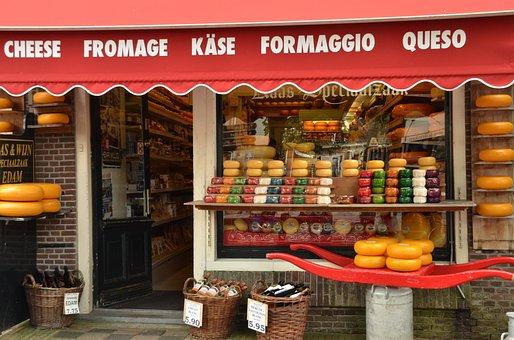 Cheese, Cheese Shop, Edam, Tourism, Netherlands