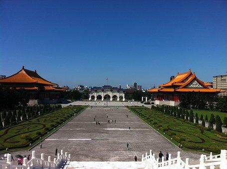 Taiwan, Taipei, Chiang Kai-shek Memorial Hall