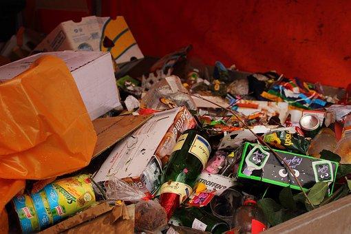 Garbage, Celebration, Waste, Disposal, Environment