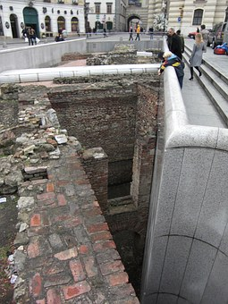 Excavations, Vienna, Austria, Roman Times, Downtown