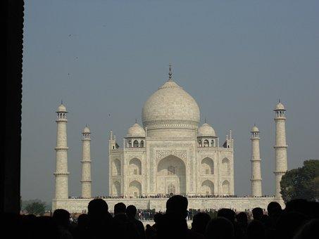 Taj Mahal, Marble, Monument, Mausoleum, Taj, Travel