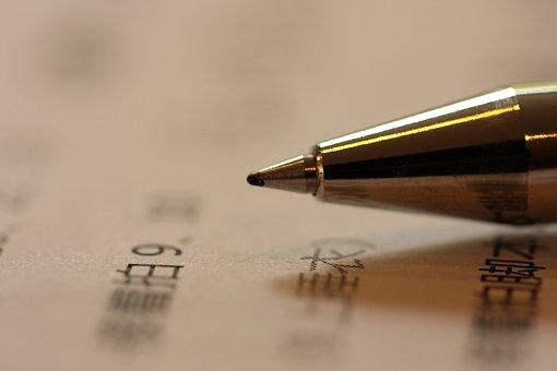 Text, Nib, File, Pen, Paper