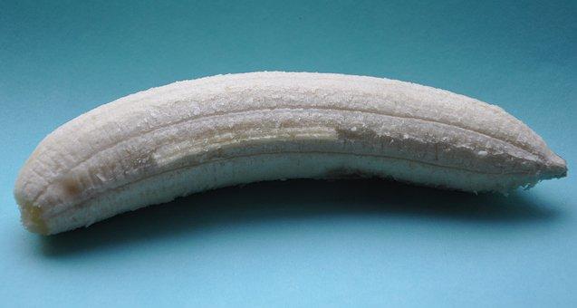 Banana, Fruit, Protein, No Skin